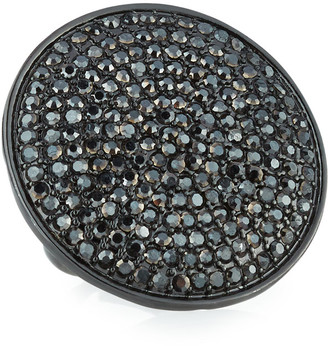 Nest Jewelry Adjustable Pave Disc Ring