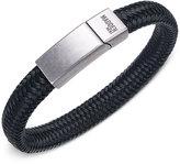 Steve Madden Men's Woven Cord Bracelet