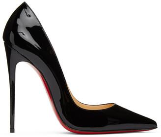 Christian Louboutin Black Patent Kate 120 Heels