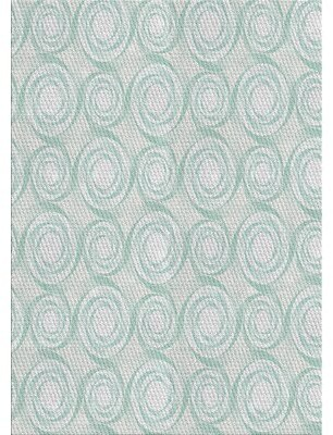 East Urban Home Patterned Gray/Blue Area Rug Rug Size: Rectangle 4' x 6'