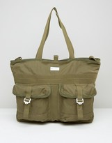 adidas Tote Bag In Green AY8668