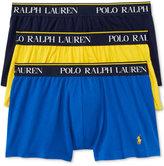 Polo Ralph Lauren Men's Cotton Stretch 3 Pack Boxer Briefs.