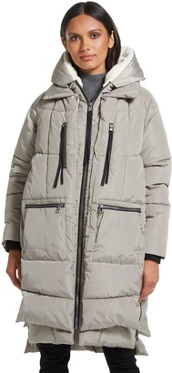Gallery Faux Down Utility Puffer Coat