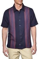 Nat Nast Men's 'Columbus' Regular Fit Short Sleeve Cotton Blend Sport Shirt