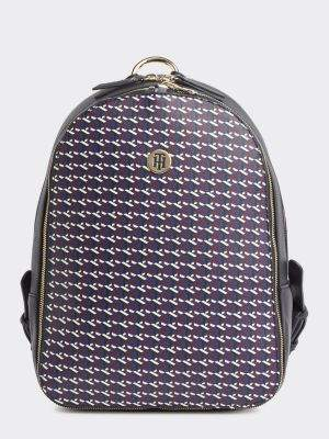 Tommy Hilfiger My Tommy Monogram Print Backpack