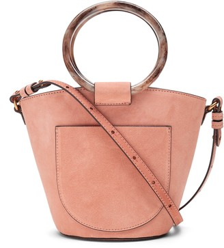 Banana Republic Mini Suede Bucket Bag
