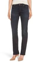 Eileen Fisher Women's Straight Leg Stretch Jeans