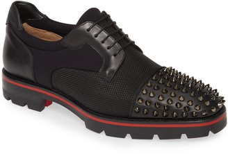 Christian Louboutin Luis Spikes Cap Toe Derby
