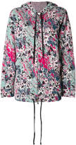 M Missoni printed hooded jacket