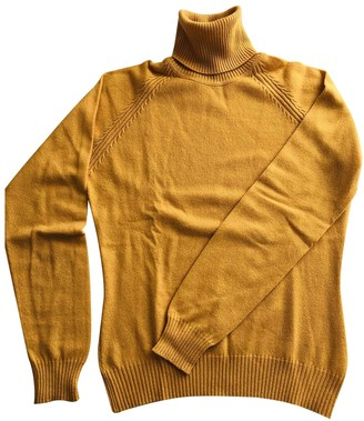 Loro Piana Yellow Cashmere Knitwear for Women