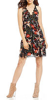 Jessica Simpson Lizzy Printed Slip Dress