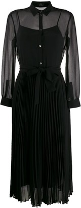 Paul Smith pleated shirt dress