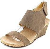 Adrienne Vittadini Footwear Women's Transe Wedge Sandal
