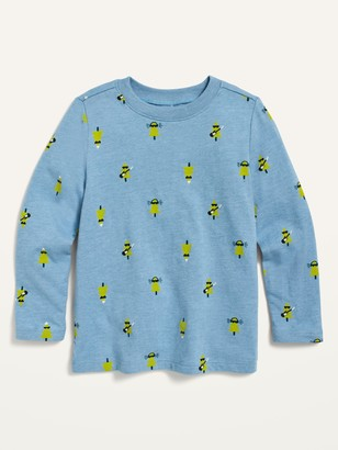Old Navy Long-Sleeve Printed Tee for Toddler Boys