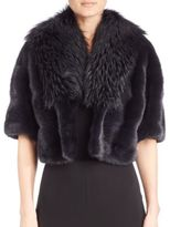 Michael Kors Mink & Fox Fur Jacket