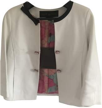 Louis Vuitton \N White Leather Jackets