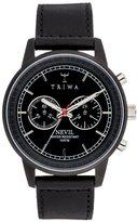 Triwa Midnight Nevil Watch Black Sewn Classic