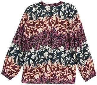 Rachel Roy Elle Floral Long Sleeve Blouse
