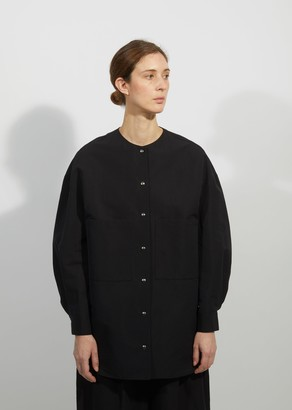 Dusan Cotton & Linen Oversized Shirt