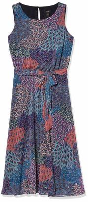 MSK Women's Sleeveless Dress with SASH