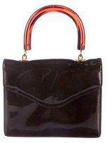 Bottega Veneta Patent leather Mini Handle Bag