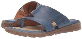 Børn Sorja II (Blue Full Grain Leather) Women's Sandals