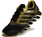 QUUQ Springblade Drive Men Running Shoes Breathable Sneakers Black 44EU