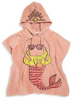 Stella McCartney Girl's Bobo Hooded Mermaid Towel