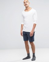 Jack Wills Jersey Lounge Shorts In Navy