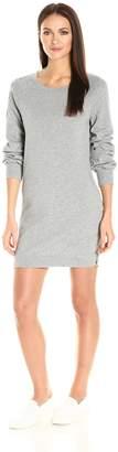 Pam & Gela Women's Destroyed Off Shoulder Dress