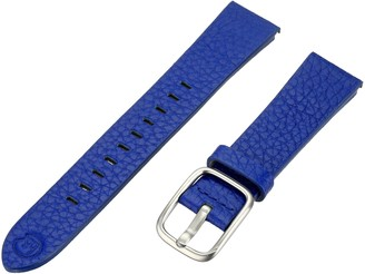 Hadley Roma b&nd by Hadley-Roma with Mode Blue 18mm Genuine Leather Watch Band