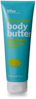 Bliss Lemon & Sage Body Butter Maximum Moisture Cream
