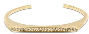 AllSaints Pave Detail Modern Open Cuff Bracelet