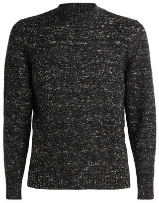 Pal Zileri Wool-Blend Flecked Sweater