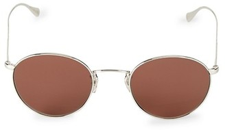 Oliver Peoples Coleridge 50MM Round Sunglasses