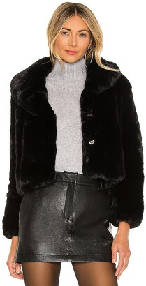 bübish Milan Cropped Faux Fur Jacket