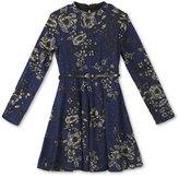 Speechless Belted Floral-Print Dress, Girls (7-16)