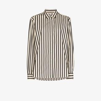 Totême Capri striped cotton shirt