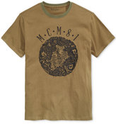 GUESS Men's Embroidered Cotton T-Shirt
