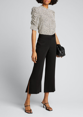 Kobi Halperin Angie Side-Slit Cropped Pants