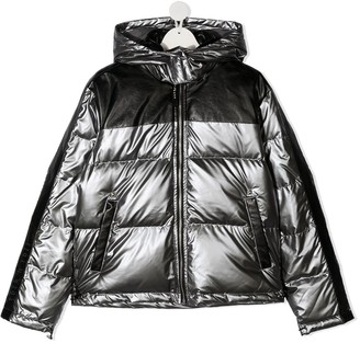 John Richmond Junior Down-Filled Padded Coat