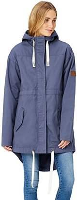 HIKARO Women's Lightweight Parka Coat with Hood,(Manufacturer size: Small)