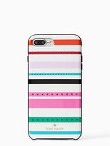 Kate Spade Jeweled fiesta stripe iphone 7 plus case