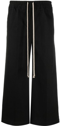 Rick Owens Cropped Flare Trousers