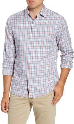 Faherty Ventura Regular Fit Plaid Button-Up Shirt