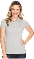 U.S. Polo Assn. Solid Pique Polo Shirt
