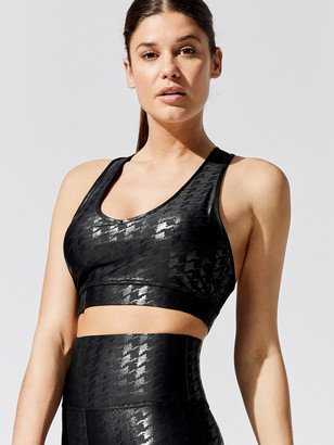 Carbon38 Houndstooth Action Bra 2.0