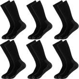 Dickies 6 Pairs) Mens Thick Cushioned Industrial Crew Padded Work Socks Shoe 6-14