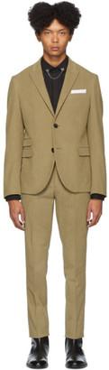 Neil Barrett Tan Corduroy Suit