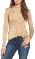 Leith Women's Long Sleeve Shine Top